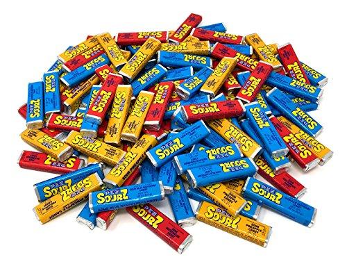 Pez Candy Single Flavor 2 Lb Bulk Bag (Sourz Variety)