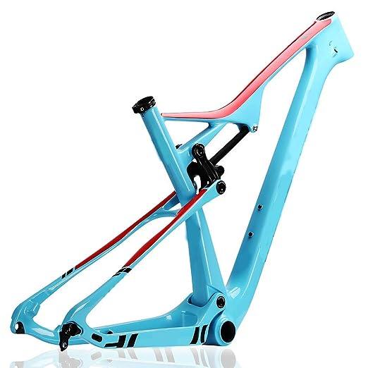 YAMEIJIA Cuadro de Carbono Mountain Bike (XC) T800 MTB Cuadro de ...