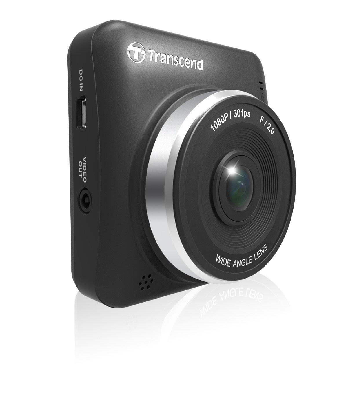 Transcend DrivePro 200 Camé ra Dashcam / Enregistreur video pour Voiture WIFI - Support Ventouse  TS16GDP200M