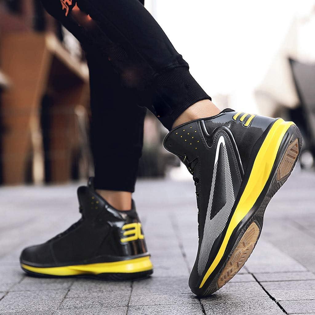 ⚽ Hommes Chaussures De Basket-Ball Haut Non Glissantes avec Absorption des Chocs