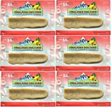 FRESH HIMALAYAN DOG CHEW LARGE UNDER 55 POUNDS HEALTHY NATURAL LONG LASTING TREAT (6 Pack)
