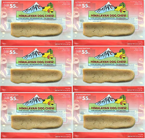6 Pack Large Himalayan Chews Treat