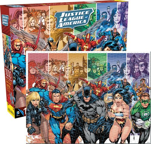 Aquarius DC Comics Justice League of America 1000 Piece Jigsaw Puzzle