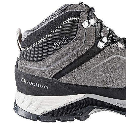 25c0af5ba Quechua MH 500 Men s MID Waterproof Mountain Hiking Boots - Grey  Buy  Online at Low Prices in India - Amazon.in