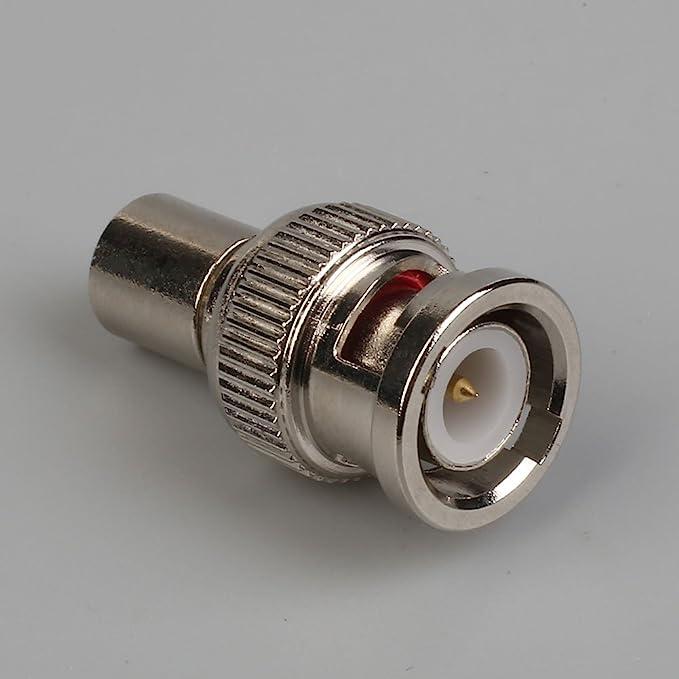 Gulin Conector Macho coaxial BNC para 50 Ohm RG8 / X, Cable RF Belden 9258 y Times Microwave LMR-240 Antena coaxial Conector de Cable coaxial: Amazon.es: ...