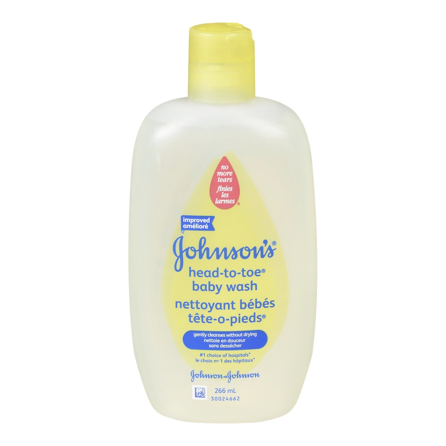 Johnson's Head to Toe Baby Wash Ultra Mild Cleanser, 266 ml Johnson's