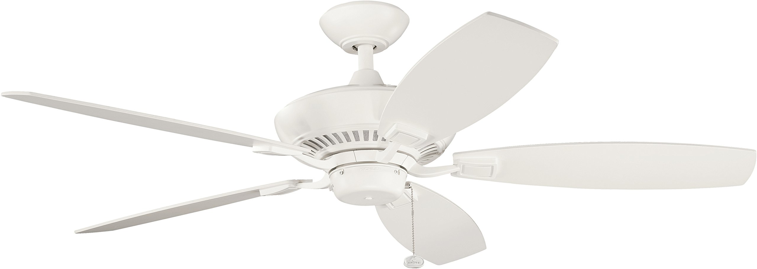 Kichler 300117WH 52-Inch Canfield Fan, White