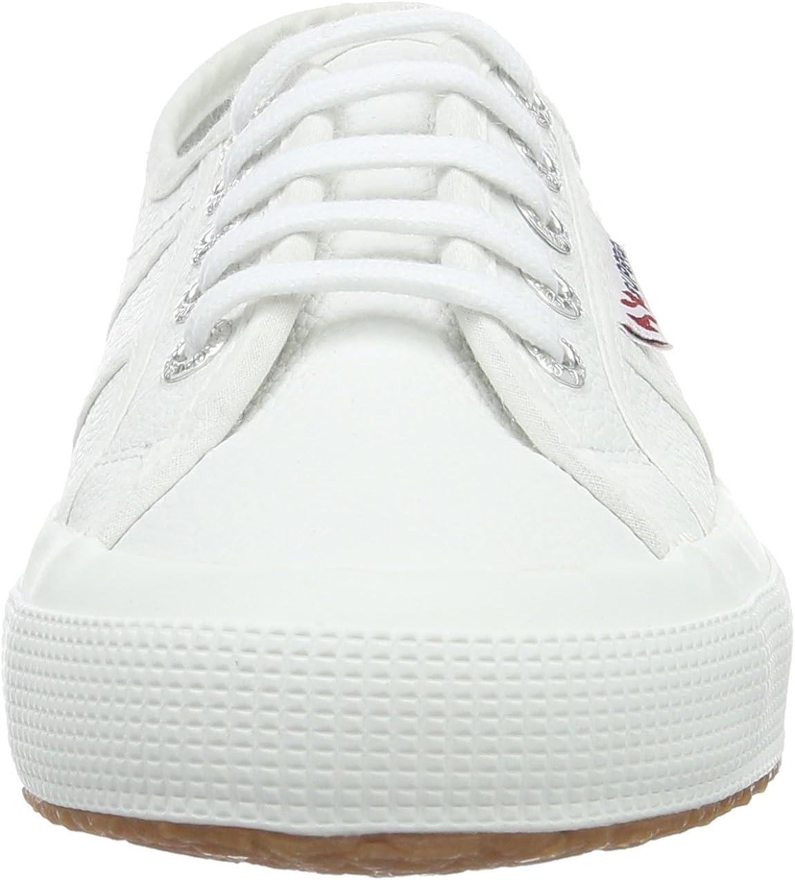 US 8.5 900 Superga Womens Low-Top White