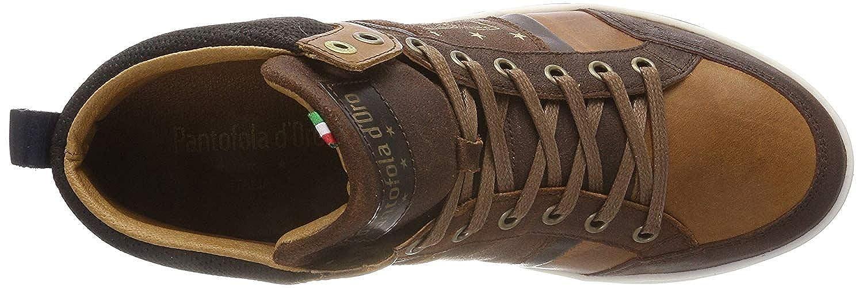 Pantofola d'Ora Mondovi Uomo Mid Marrone Uomo Uomo Uomo Pelle Formatori 1d7691