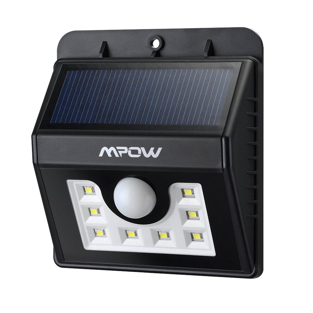 Mpow Solar Sicherheitsbeleuchtung Test