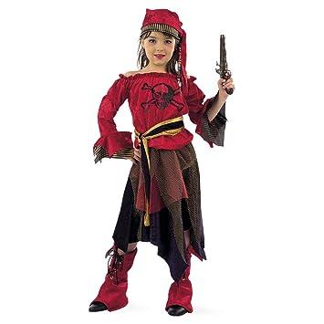 Lima - Disfraz de pirata para niña (MI497)