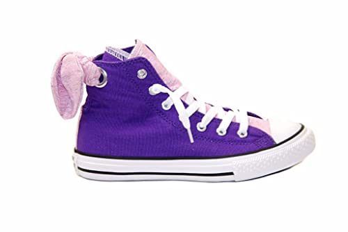 5f1220ab917f Converse Junior CT All Stars Bow Back 651806C Sneakers Purple UK1