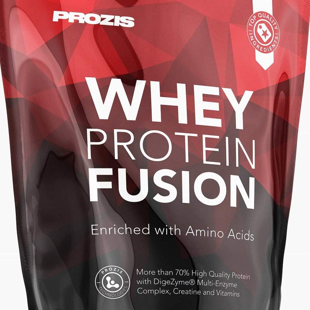 Prozis Whey Protein Fusion, Sabor Piña - 900 gr