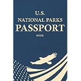 National Parks Passport Book: U.S. National Parks Stamp Book (Dark Blue)