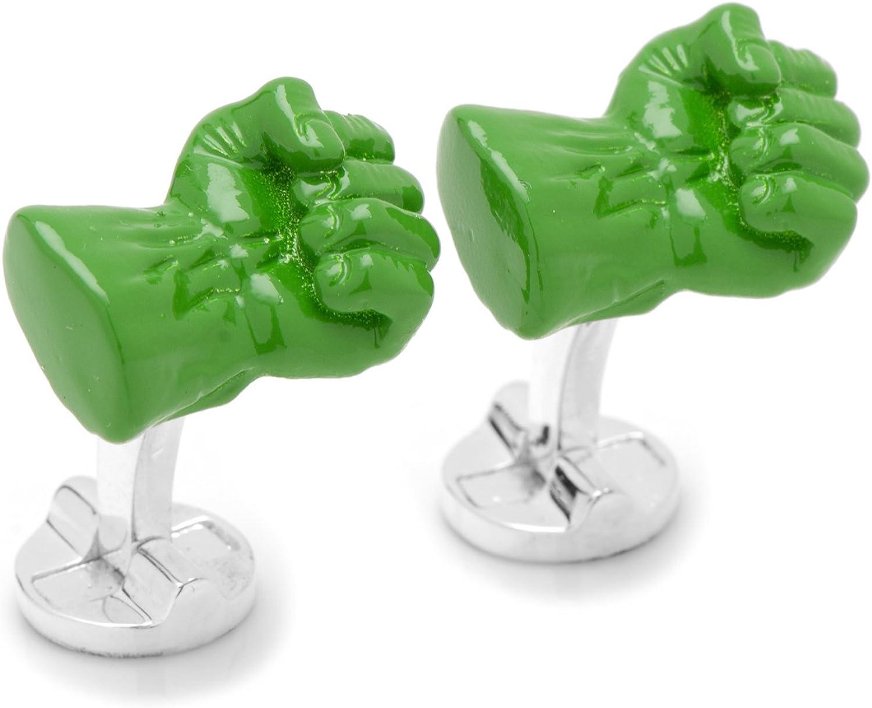 Incredible Hulk Fist Cufflinks