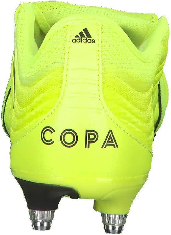 adidas Herren Copa Gloro 19.2 Sg Fußballschuhe, Noir/Noir/Jaune Fluo Gelb Amasol Negbás Amasol 000