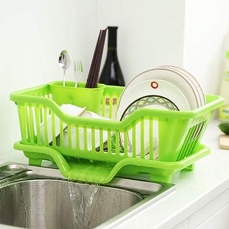 sink side dish drying rack drain board