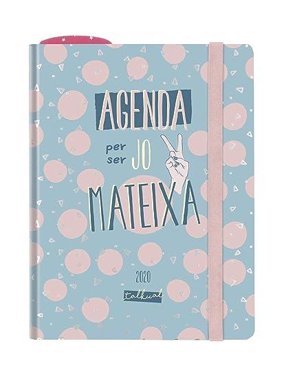 Finocam - Agenda Talkual 2020 semana vista apaisada Misma catalán