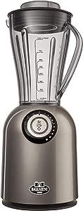 BALLARINI 36414-100 Tesoro 2-in-1 Blender w/Personal Cup, 800 Watts, Metallic Gray