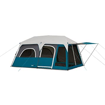 C&valley 10-Person Instant Cabin Tent  sc 1 st  Amazon.com & Amazon.com : Campvalley 10-Person Instant Cabin Tent : Sports ...