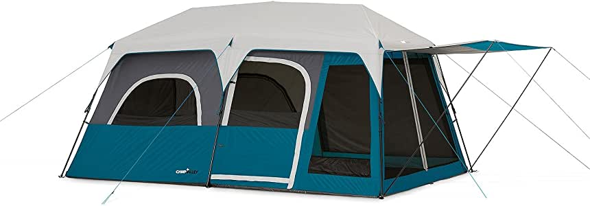 Amazon Com Campvalley 10 Person Instant Cabin Tent