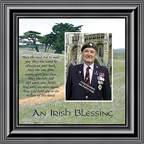 Personally Yours An Irish Blessing, Irish Blessing Picture Frame, May the Road Rise to Meet You, 10x10 6786B