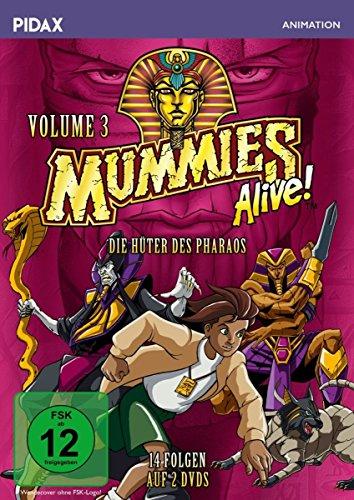 Mummys Alive Dvd - Mummies Alive - Die Hüter des Pharaos - Vol. 3