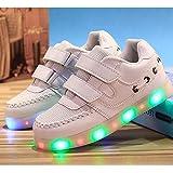 kids boys girls LED Light Breathable Flashing