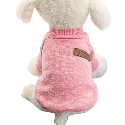 Minkoll Mascotas Perro Chaqueta Jersey, Chihuahua Yorkie Pequeñas Mascotas Perro Suave Forro Polar Ropa Abrigo