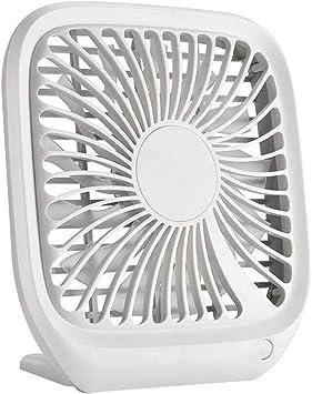 Mini Ventilador de Refrigeración Ventilador de Aire Acondicionado Smalldesktop, Mini Portátil, Cuadrado, Usb, Recargable, Silencioso, Escritorio de la Oficina, Ventilador de Aire, Ventilador de Usb,: Amazon.es: Bricolaje y herramientas