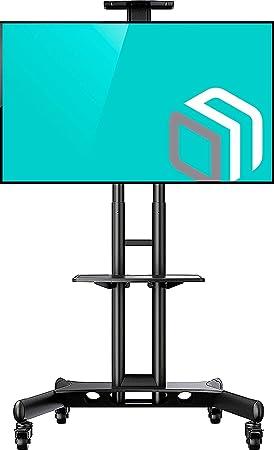 ONKRON Soporte TV móvil suelo carrito para pantallas de 32
