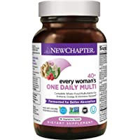 New Chapter Women's Multivitamin, Every Woman's One Daily 40+ Fermented with Probiotics...