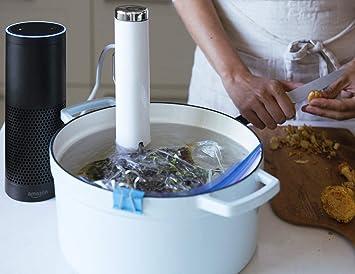 Amazon.com: ChefSteps Joule Sous Vide, 1100 Watts, White ...