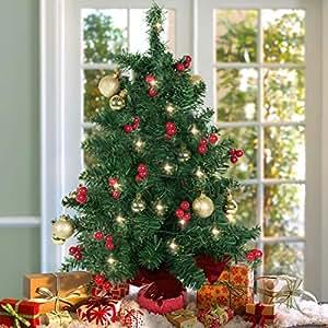 Amazon.com: 3 Feet & Under - Trees / Seasonal Décor: Home & Kitchen