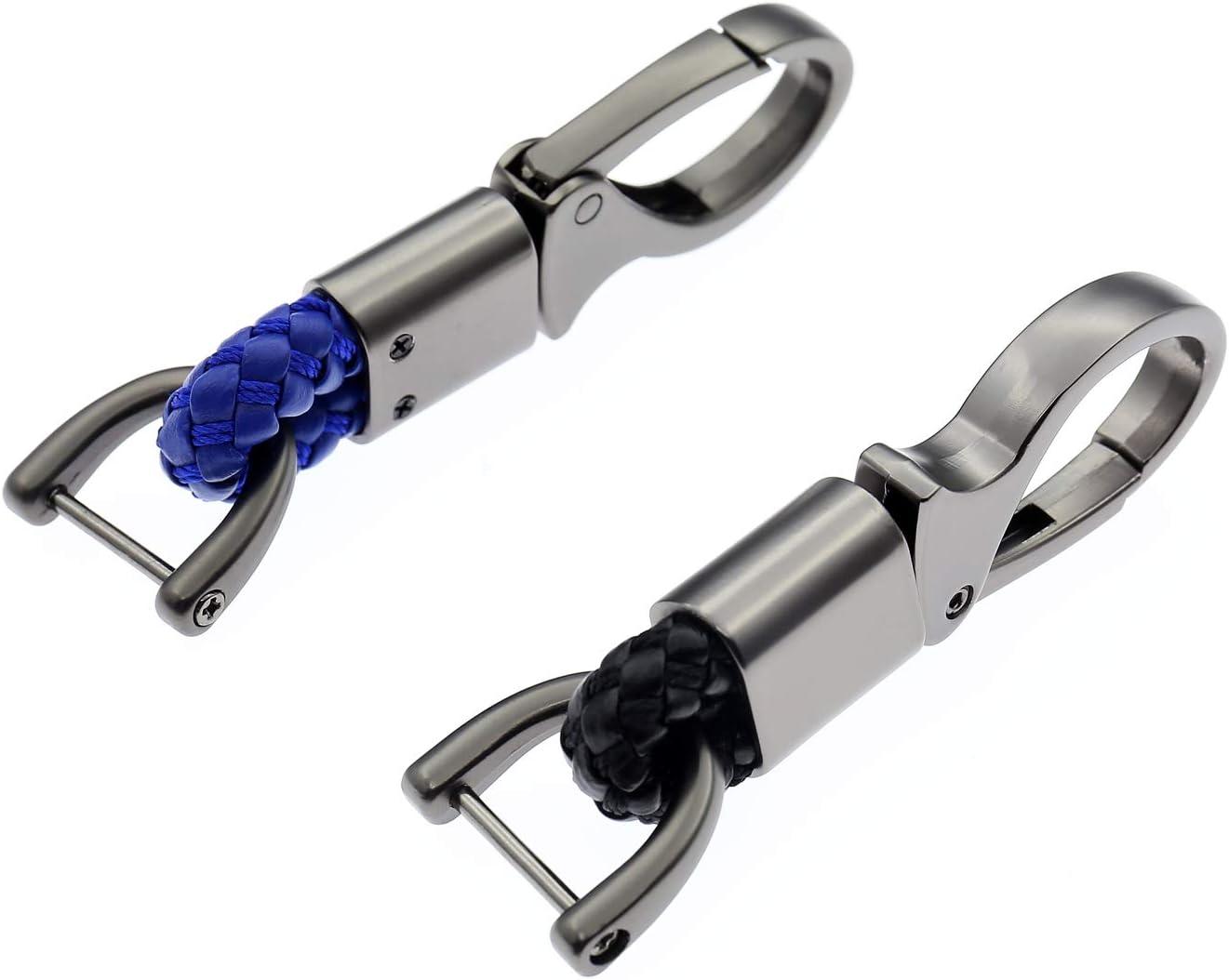 AYECEHI 2pcs Car Keychain Metal Keychain car Metal Keychain Pendant Keychain Men and Women Gifts