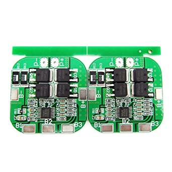 2PC 4S 14 8V 20A High Current Li-ion Lithium Battery BMS