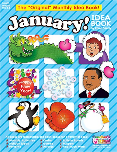 January Monthly Idea Book (The