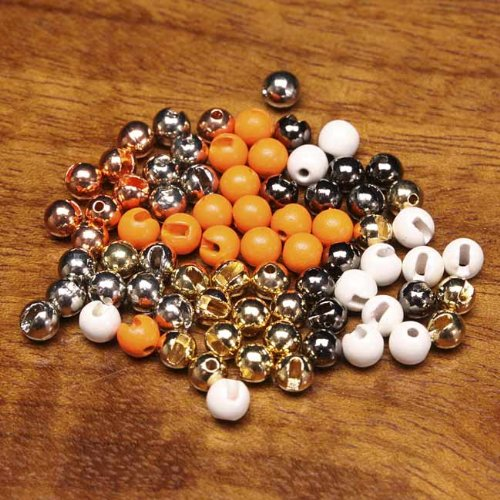 Orvis Slotted Tungsten Beads, Gold, 3/32 ()