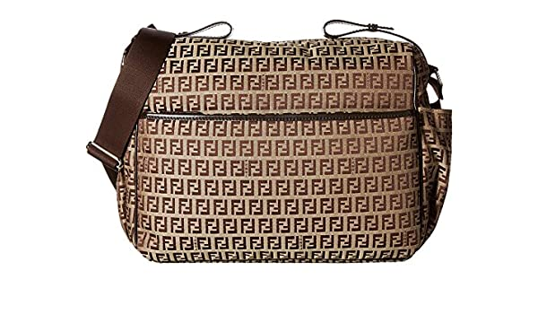 Amazon.com   Fendi Kids All Over Diaper Bag Brown One Size   Baby 16def050e8c87