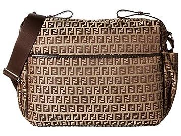 Amazon.com   Fendi Kids All Over Diaper Bag Brown One Size   Baby 1a4c31278487e