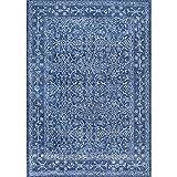 Cheap Nuloom 4′ x 6′ Vintage Waddell Rug in Dark Blue