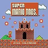 Super Mario Brothers 2016 Wall Calendar