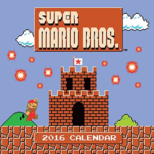 Super Mario Brothers 2016 Wall Calendar -