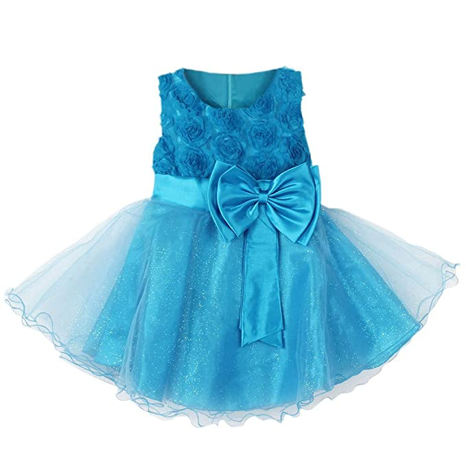 Amazon.com: Froomer Flower Girl Princess Dress Toddler Wedding Party ...