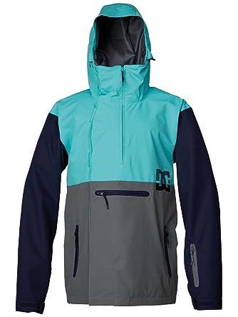 Hombre Snowboard Chaqueta DC Paoli 14 Jacket, color azul aguamarina, tamaño large: Amazon.es: Deportes y aire libre