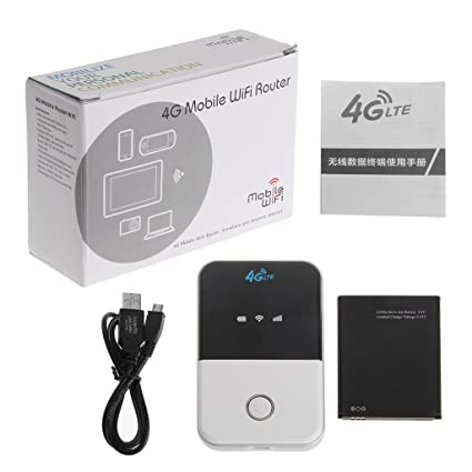 A0127 - Router WiFi 3G 4G LTE Router WiFi de Coche Ranura ...