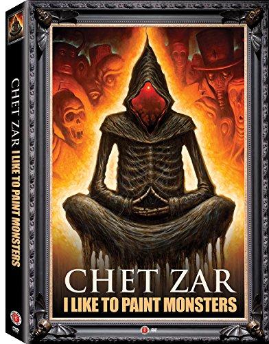 Background Signed - Chet Zar: I Like to Paint Monsters