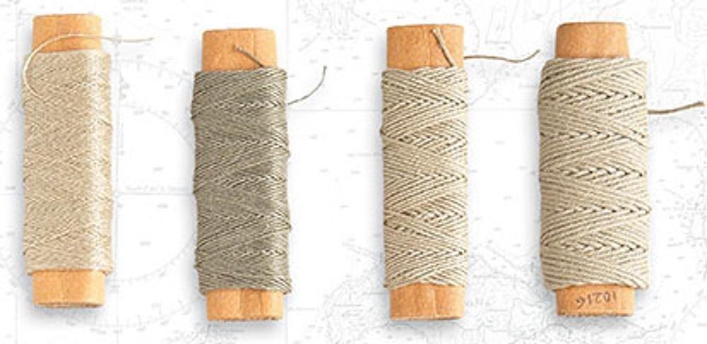 Fil de coton beige ø 0,75mm (10 m)