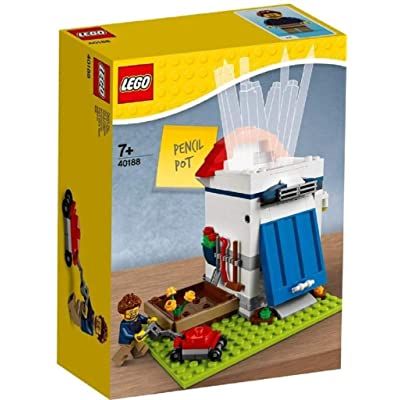 LEGO Iconic 40188 Pencil Pot: Toys & Games