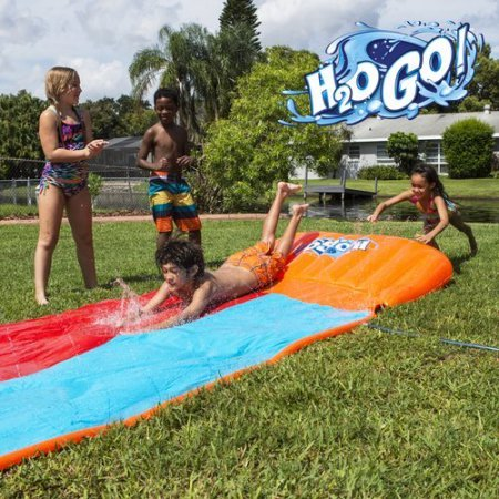 H2O Go Water Slide Double Lane WLM